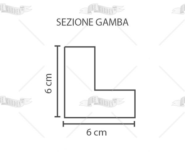Palma - Tavolo estensibile 80x80/150 - 2
